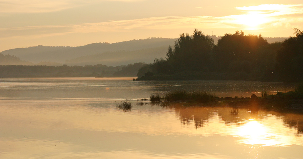Rio Tejo - Nascer do Sol em Alvega