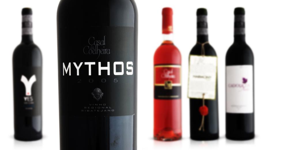 Grande seleção de vinhos
