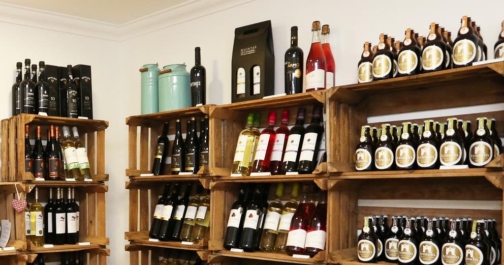 vinhos e cervejas artesanais