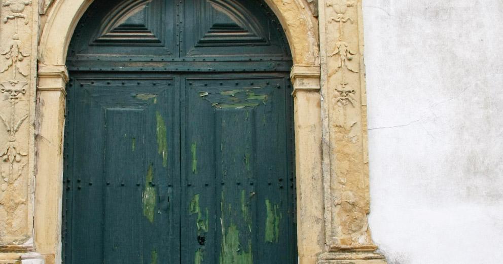 Portal do Antigo Convento de Nossa Senhora da Esperança